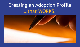 Creating an Adoption Profile that Works