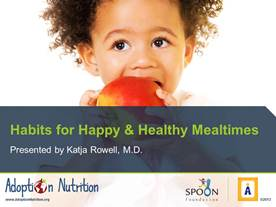 Habits for Happy and Healthy Mealtimes