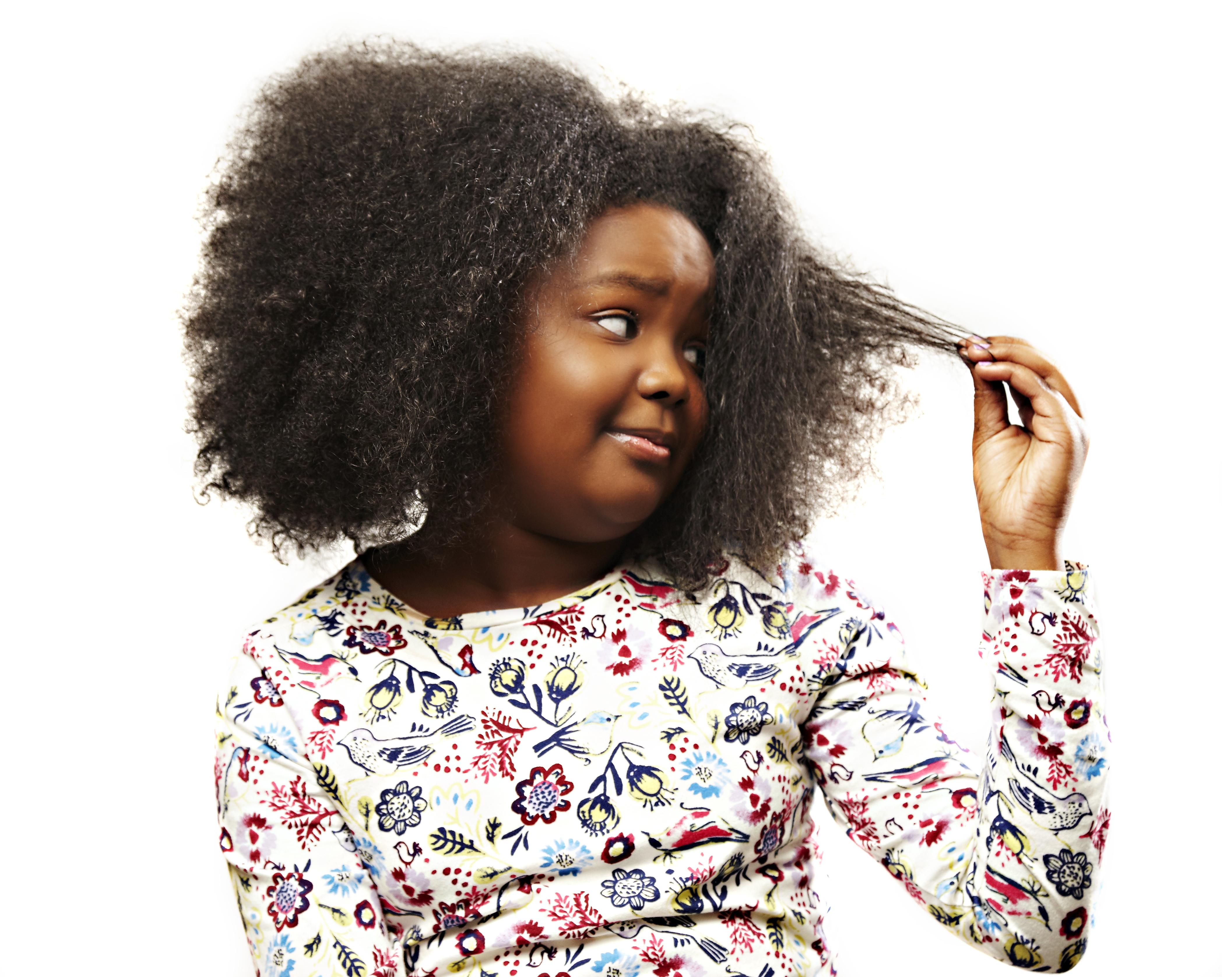 Basic Care and Styling of Black Girls' Hair